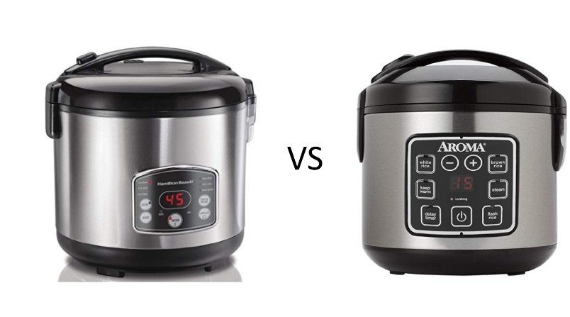 Hamilton Beach vs Aroma ARC Rice Cooker
