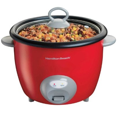 hamilton beach rice cookers red