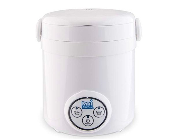 Aroma Housewares Mi 3-Cup Digital Cool Touch Mini Rice Cooker