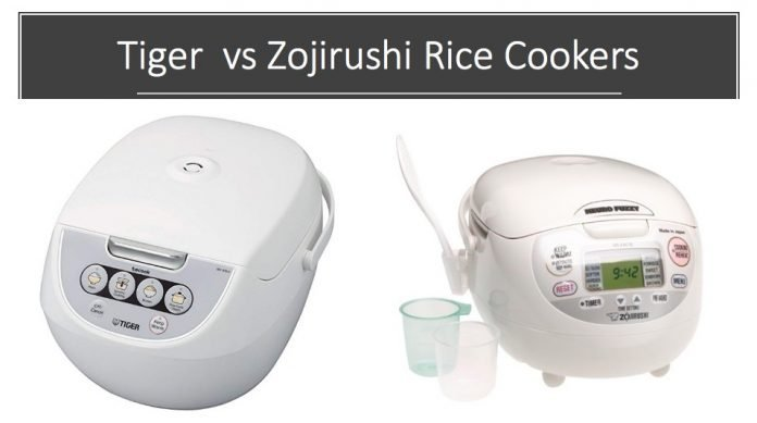 tiger vs zojirushi rice cookers