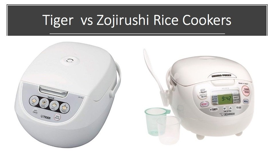 Tr vs Zojirushi Rice Cookers