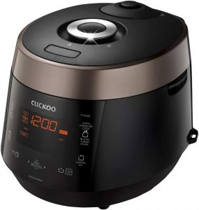 Cuckoo Electric Heating Pressure Cooker & Warmer CRP-P1009SB