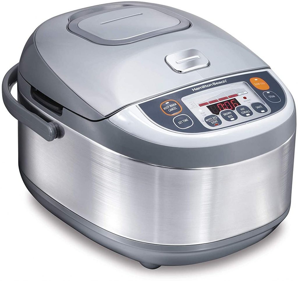 Hamilton Beach Advanced Multi-Function Rice Cooker & Food Steamer (37570)