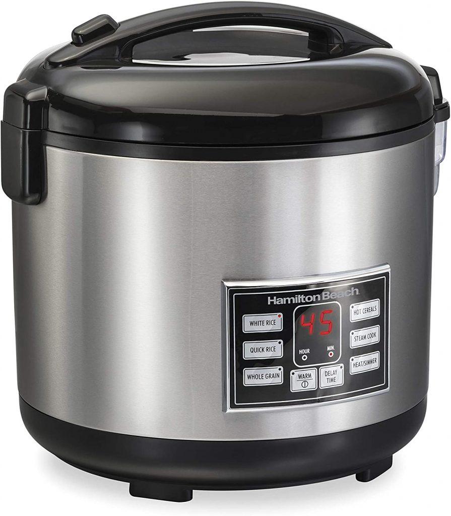 Hamilton Beach Digital Programmable Rice Cooker 37543