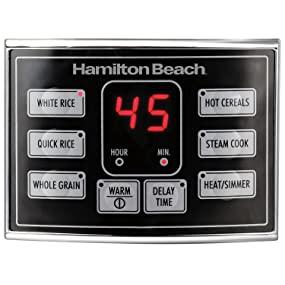 Hamilton Beach 37543 Cook Settings